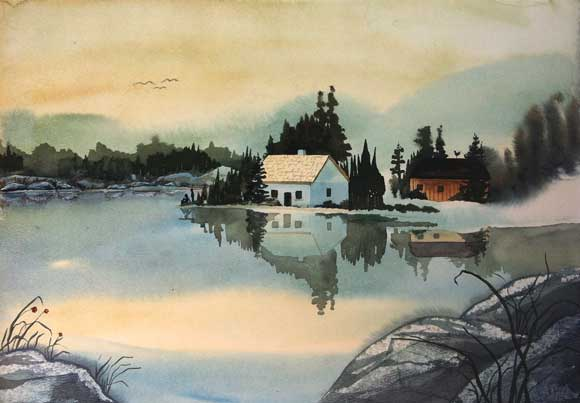 Reflections-watercolor